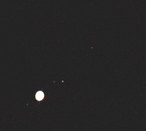 Jupiter with 4 moons