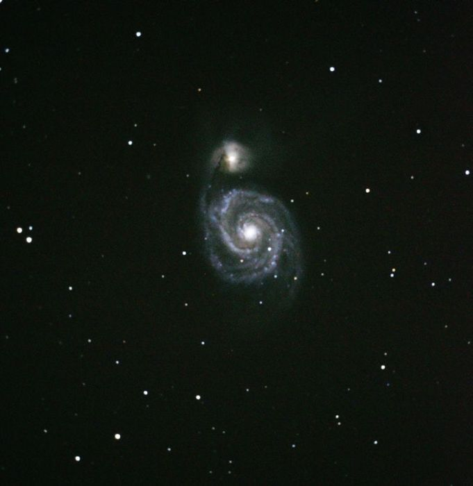 La galaxie du Tourbillon